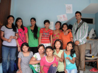 child domestic workers at out reach center