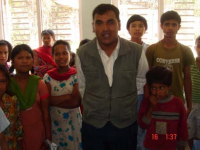 VDC secretary, Dhapasi, kathmandu with domestic child labors