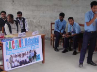 Oratory competion on child labor organized by child club