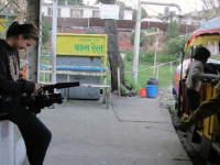 A documentary being shot on the plight of Nepalese child and women