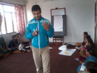 Providing training to community people on child protection from abuse
